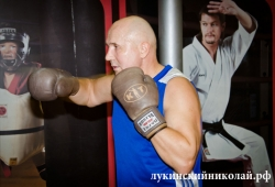 Боксерский спарринг Николая Лукинского с Чемпионом мира - Денисом Лебедевым и тренировка с Костей Цзю.
