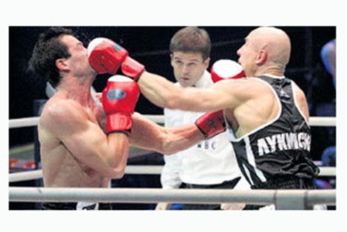 "Николай на проекте ""Король ринга"" (июль 2008г.)"