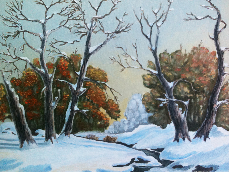 Ранний снег - автор Лукинский Николай