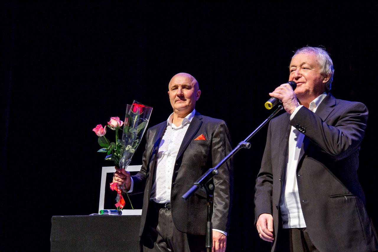 Лукинский Николай и Лион Измайловов на концерте в г.Москве