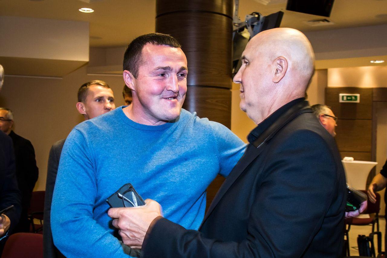 Торжественное открытие Фонда Поддержки Боксёров